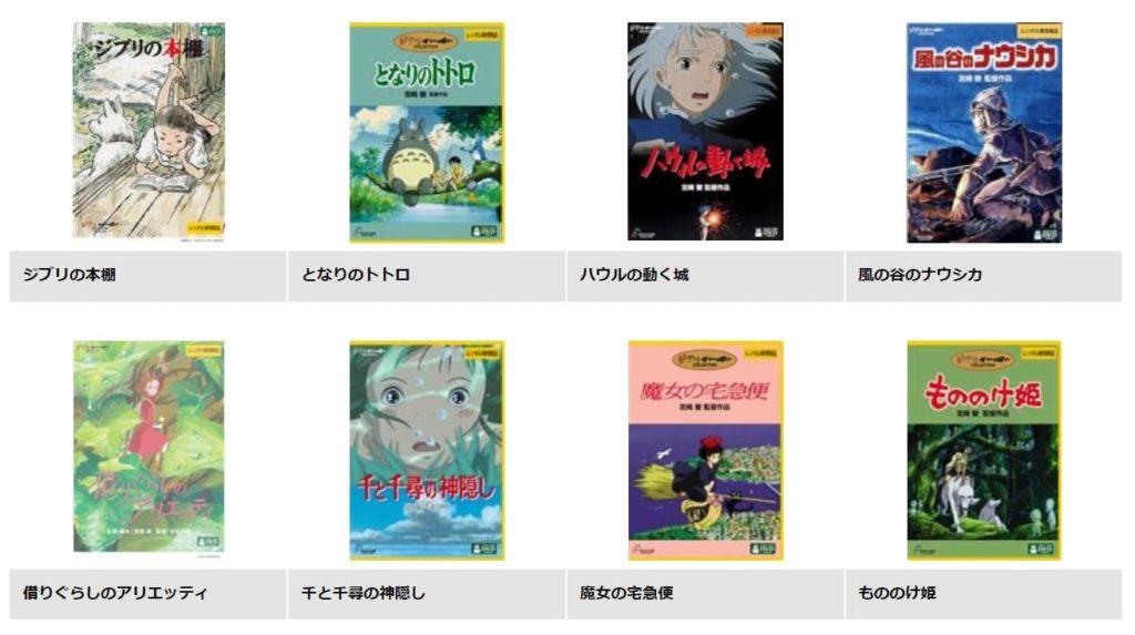TSUTAYA DISCASに無料登録してジブリ映画を視聴する方法