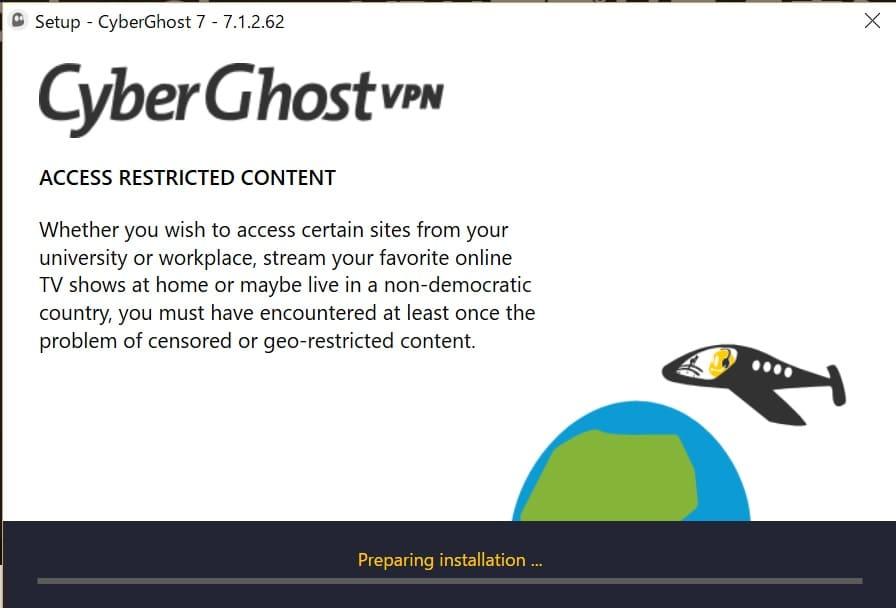 Cyberghostの使い方10
