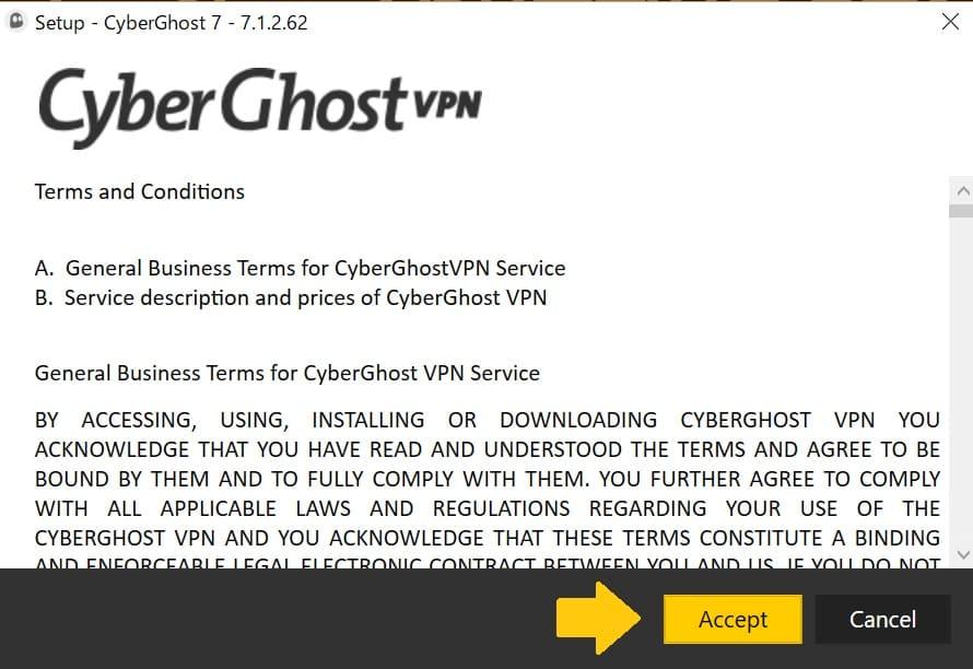 Cyberghostの使い方11