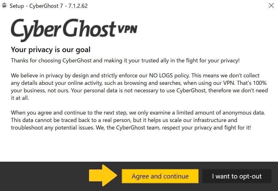 Cyberghostの使い方12