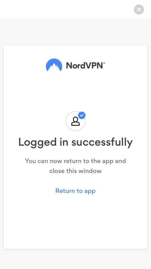 NordVPNの使い方:iPhone版5