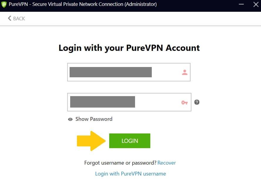 PureVPNの使い方21