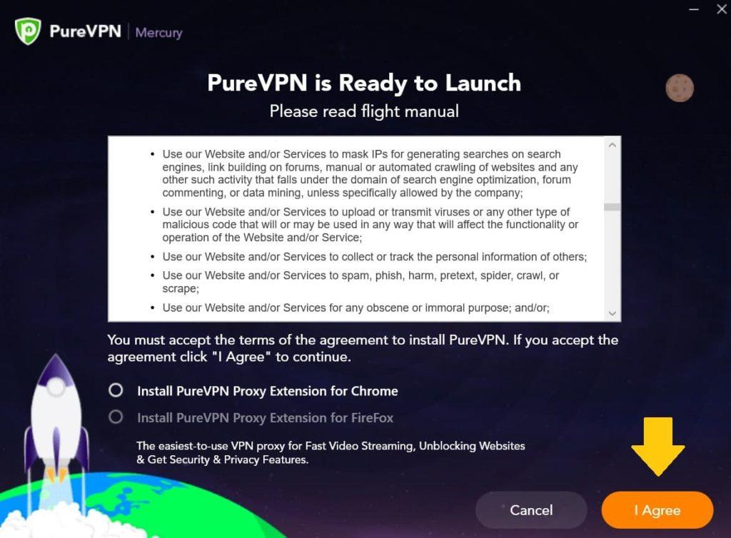 PureVPNの使い方9