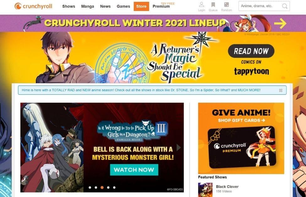 VPNサービスを利用して、Crunchyroll(クランチロール)を日本から見る方法4
