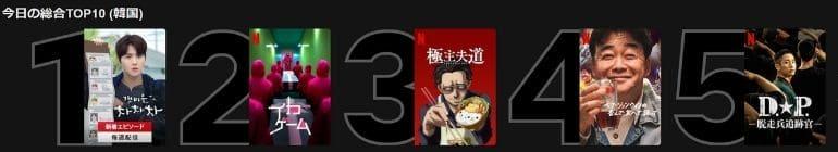 Netflixの韓国版と日本版で配信されているコンテンツは違うのか?2